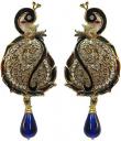 Peacock Style Earrings