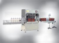Automatic lubricating oil filling line