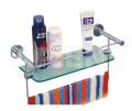 Bathroom Shelves With Towel Racks
