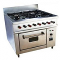 Four Burner Cooking With Oven