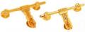 Brass Aldrops (Latches)
