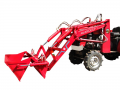 Mini Tractor Mounted Hi Dump Loader