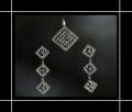 Square Pendant Set