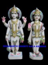 Marble Vishnu Lashmi Statue